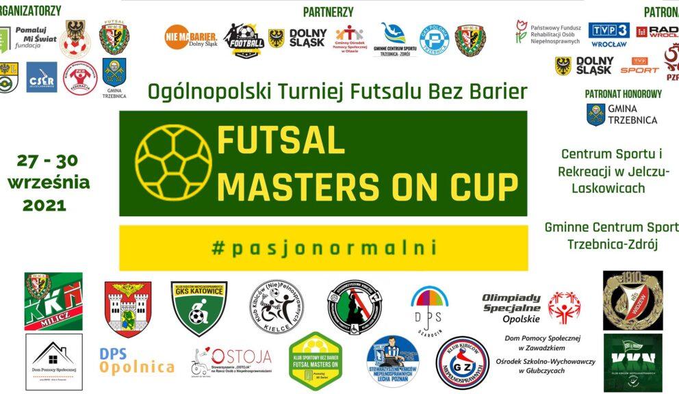 Ogólnopolski Turniej Futsalu Bez Barier – Futsal Masters On Cup.